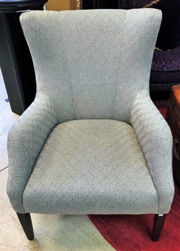 "2-Custom ""Precedent"" Made Wing Back Chairs  Priced Separate"