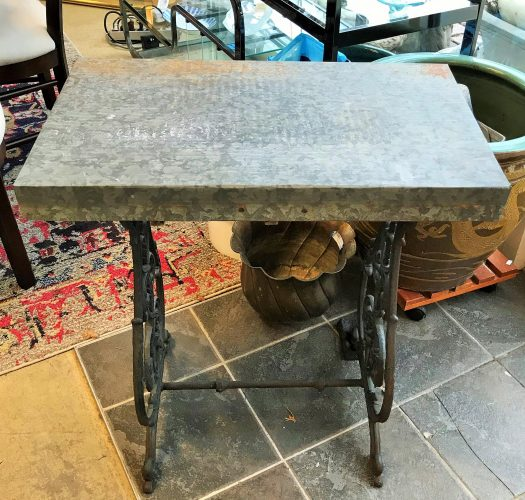 Antique Re Purposed Indoor-Outdoor Table