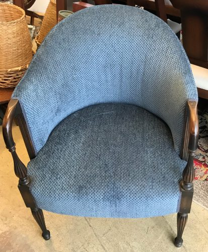 Vintage Club Style Accent Chair