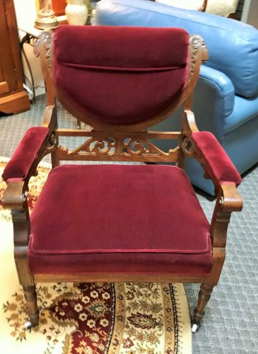 Antique ~Accent Chair And Arm Chair Priced Separate