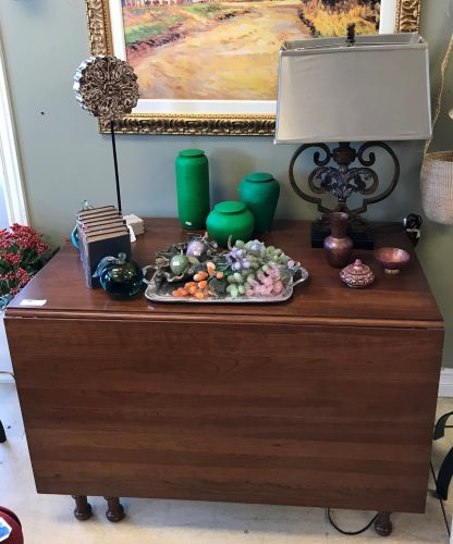 Cherry Drop Leaf Dining Room Table