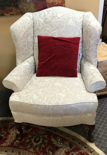 2-Wing Back Chairs Priced Separate