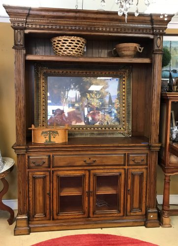 Open Upper TV Cabinet