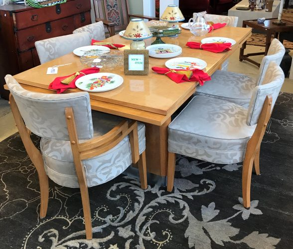 1950's Art Deco Table and Chairs