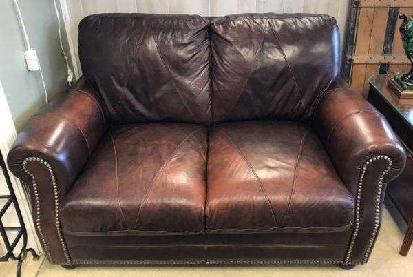 Italrom Leather Love Seat And Sofa Sold Separate