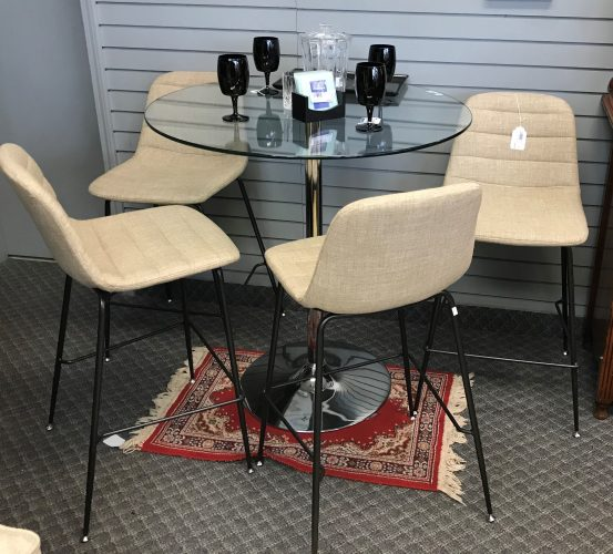 Contemporary Tulip Base Bistro Table