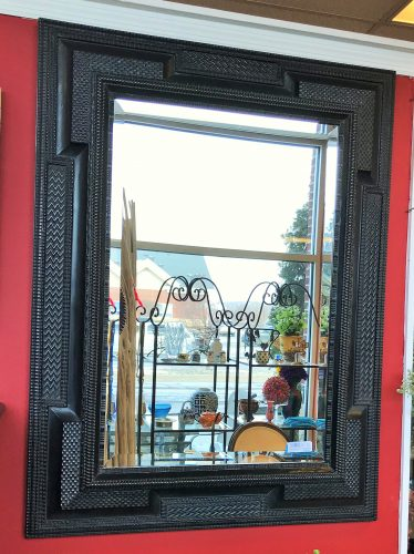 Restoration Hardware Ebonized Wall Mirror
