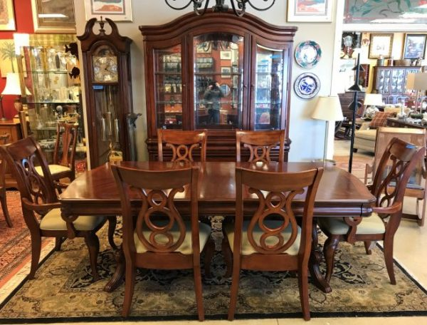 Table And Chairs-China Cabinet Sold Separate