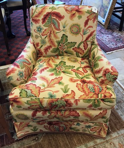 2-Custom Upholstered Armchairs Priced Separate