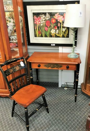 Hitchcock Desk And Chair