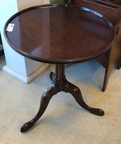 Vintage Wood & Hogan (NYC) Mahogany Accent Table