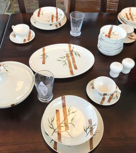 91 Piece Of Vintage American Heritage Rio Stetson China
