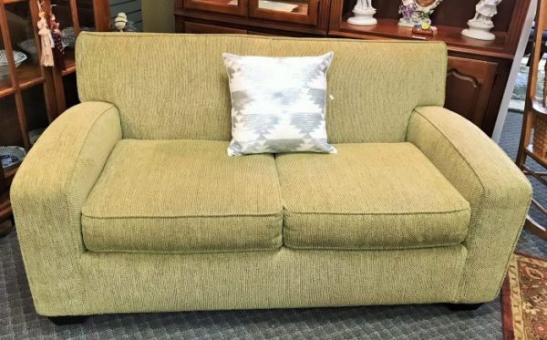 Contemporary Rowe Love Seat And Matching Arm Chair Sold Separate