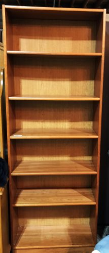 3-Cherry Bookshelves Sold Separate