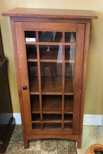 Amish Quarter Swam Bookcase