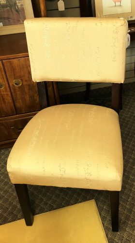 Accent Chairs Sold Separate