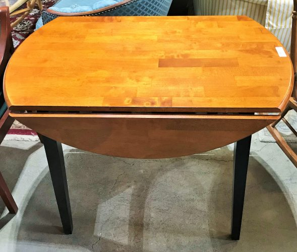 Small Space Saver Drop Leaf Table