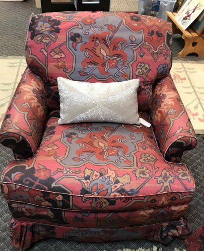Custom Bohemian Style  Two Arm Chairs Sold Separate