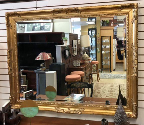 Gilded Gold Beveled Mirror