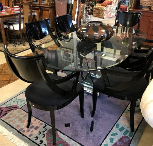 1970's Mid Century Modern Table And Chairs