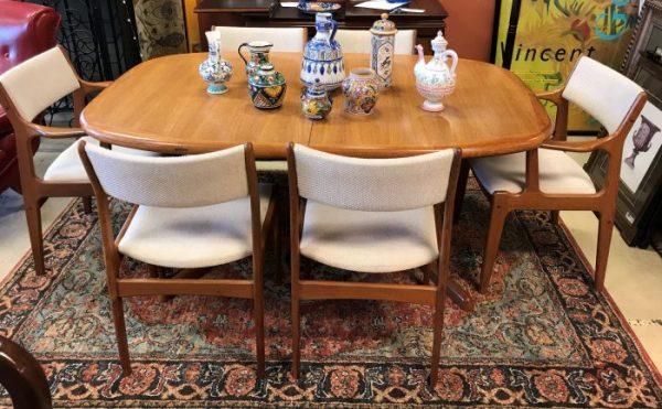 Scandinavia Woodworks Co. Teak Dining Room Set