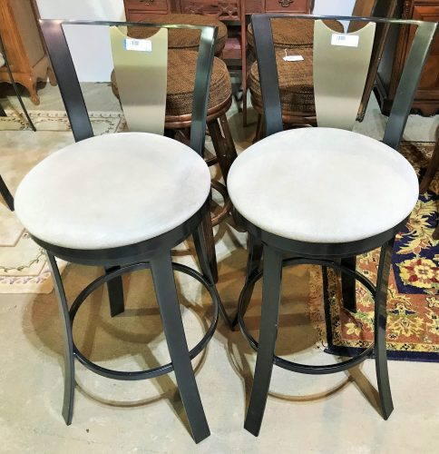 Contemporary Swivel Bar Stools Sold Separate
