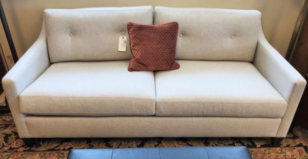 Ethan Allen Tufted Sofa Couch