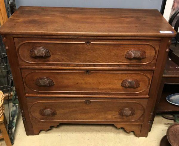 Antique Eastlake Victorian Dresser