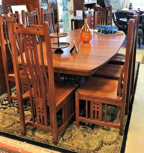 Kings Chosen Mission Style Dining Room Table And Chairs