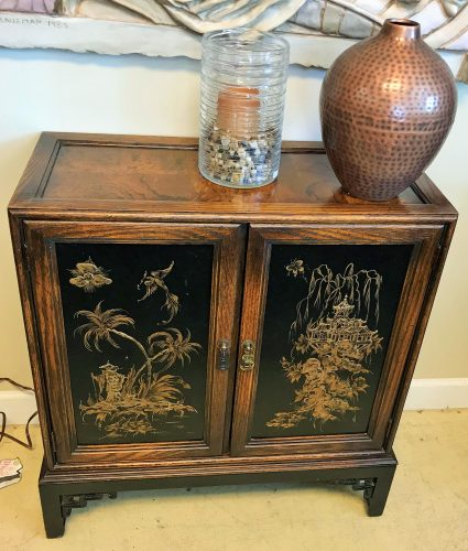Vintage Signed Made In Italy Cabinet