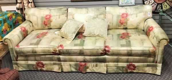 Custom Silk Sofa Couch