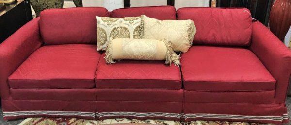 Vintage Re Upholstered Sofa