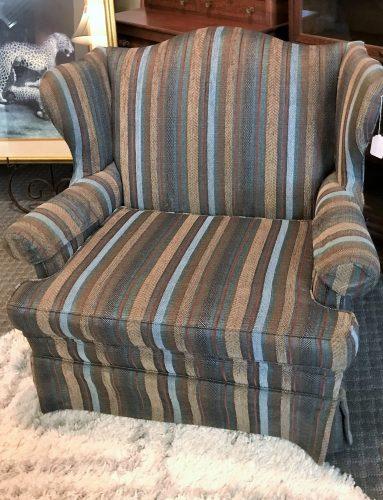 Custom New Wing Back Chair 1/2