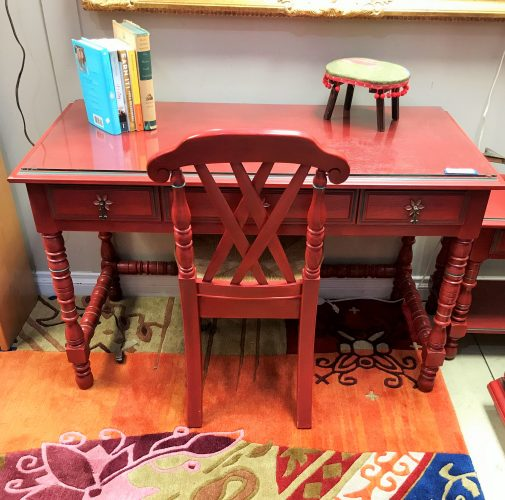 Vintage Desk Chair-Dresser and Night Stand Sold Separate