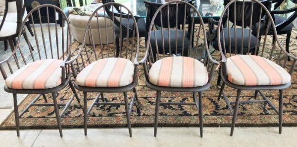 Set/4 Rejuvenation Cast Aluminum Henry Chairs