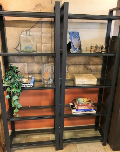 2-Crate & Barrel Book Shelves Sold Separate