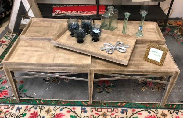 Bassett Furniture Rustic Tray Table