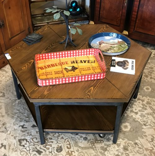 Industrial Style Lift Coffee Table