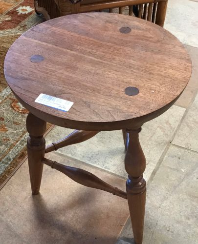 Vintage Handcrafted With Love Accent Tables Sold Separate