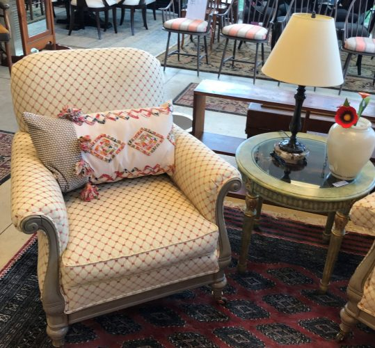2-Custom Armchairs Sold Separate