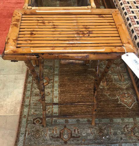 St. Barths Bamboo Folding Table