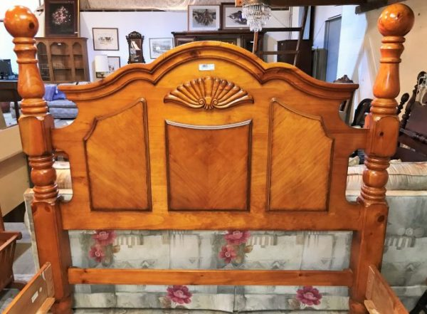 Queen Pine Bed Frame