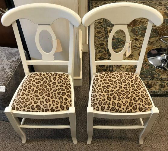 2-Williams Sonoma Dining Room Chairs Sold Separate
