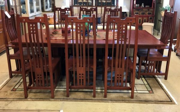 Kings Chosen Craftsman Style Dining Room Table And Chairs