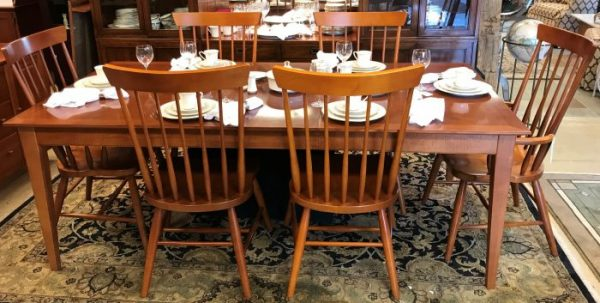 Thomasville Furniture Co. Cherry Dining Room Set And Buffet Sold Separate