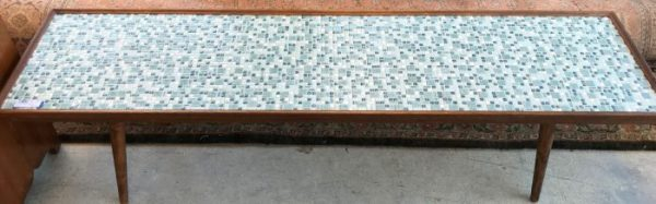 Mid Century Modern Tiled Coffee Table