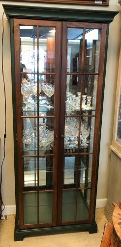Country Style Curio Cabinet