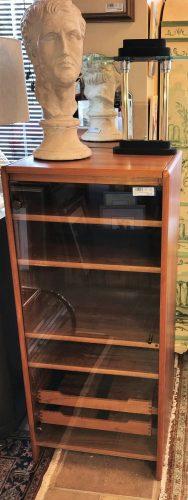 Mid Century Modern Danish Teak Stereo Cabinet