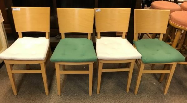 Sets Of 2-Beechwood Dining Room Chairs Sold Separate