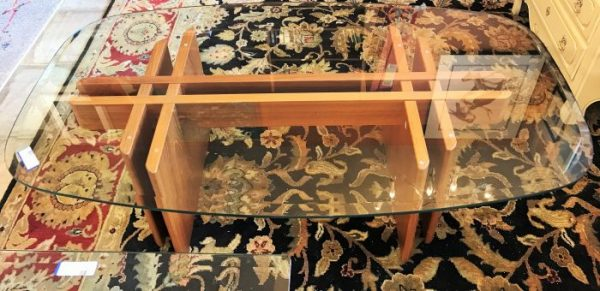 Mid Century Modern Gustav Gaarde For Trankanten Side Table And Coffee Table Sold Separate